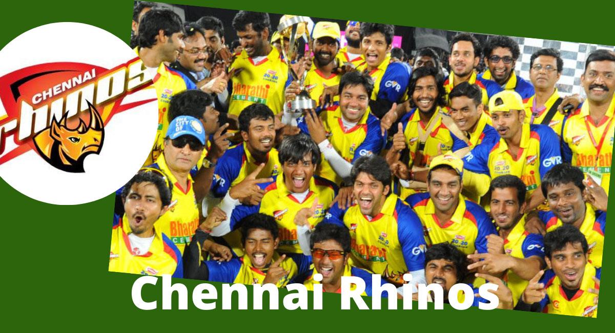 Whole Chennai Rhinos Team