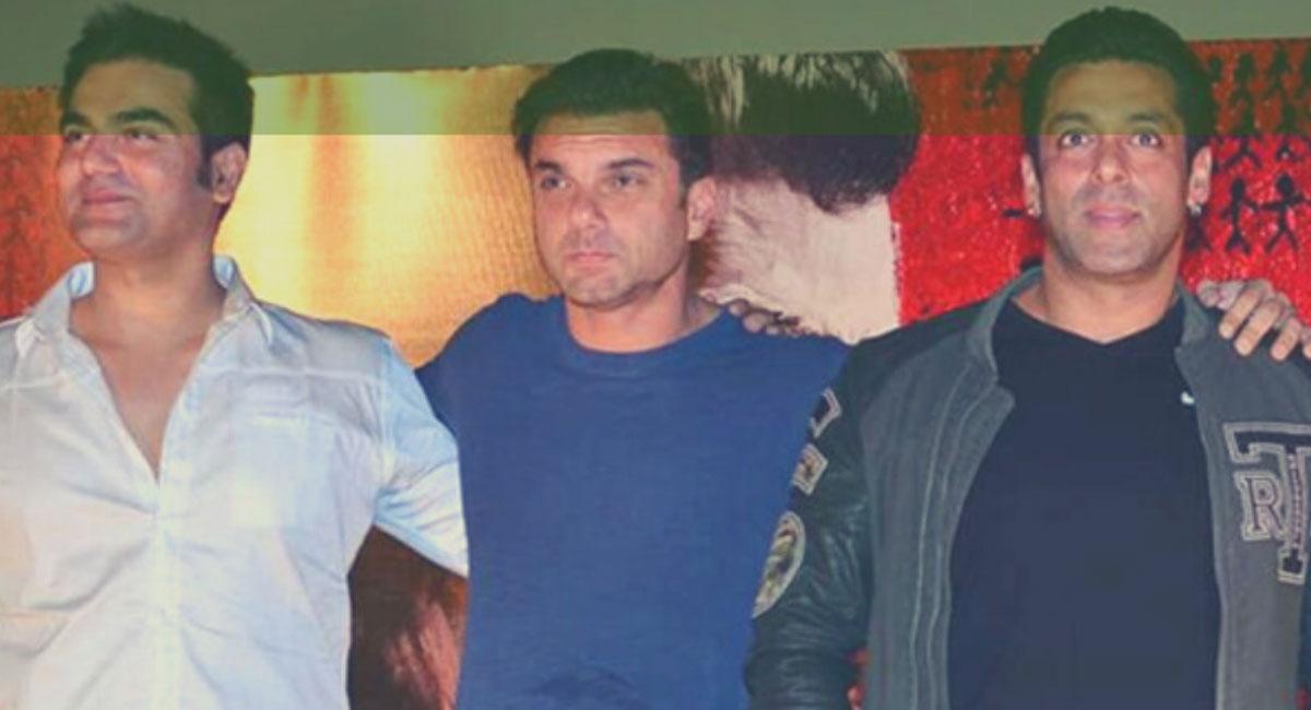 actors Salman Khan and Arbaaz Khan